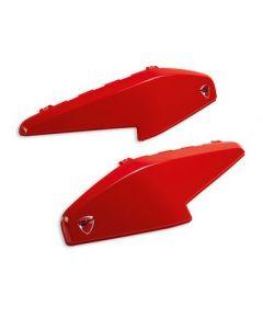 Cover BORSE LATERALI ROSSO per Ducati Multistrada 1200 Dvt 1260 950 ed Enduro