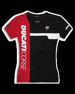 Shirt Ducati Corse track 21 nero lady