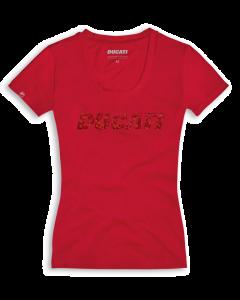 Shirt Ducati Ducatiana 2.0 rosso lady