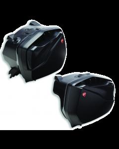 Borse laterali in plastica per Ducati Multistrada V4 25 L + 35 L