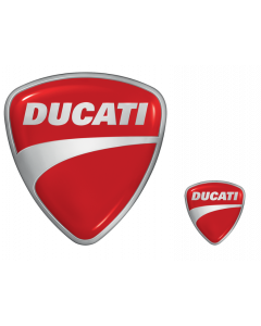 Adesivi Ducati 2 pz