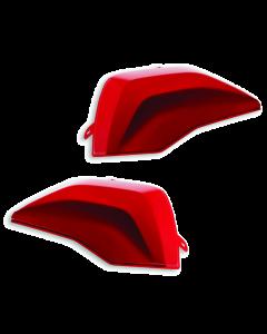Cover rosse per borse laterali in plastica per Ducati Multistrada V4