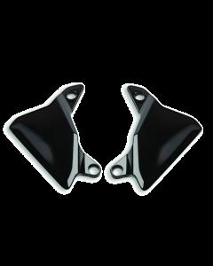 Deflettori fume' da abbinare a plexiglass maggiorato fume' o cupolino in carbonio per Ducati Multistrada V4