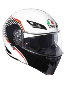 Casco Agv Compact St Multi Vermont white black red - promo