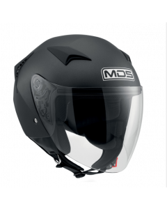 Casco Jet Mds matt black - promo