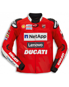 Giaccca pelle Alpinestars Ducati replica Moto Gp 2019 - promo