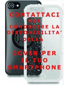 Custodia cellulare smartphone Iphone Samsung da abbinare a supporto dedicato