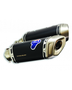 Coppia Silenziatori Termignoni titanio omologati per Ducati Hypermotard 950 - contattarci per informazioni