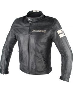 Giacca pelle Dainese Hf D1 black ice - promo