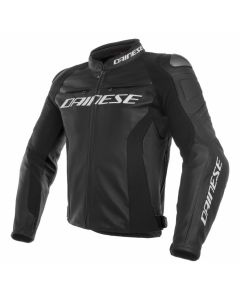 Giacca pelle Dainese Racing 3 black