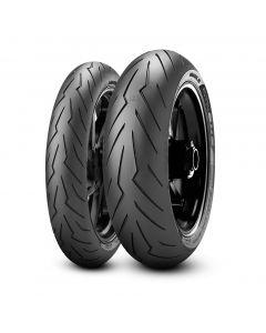 Coppia pneumatici Pirelli Diablo Rosso III 160/60 120/60