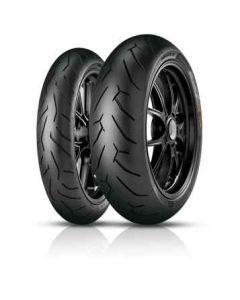 Coppia pneumatici Pirelli Diablo Rosso II 180/55 120/70