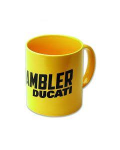 Tazza Mug Ducati Scrambler yellow