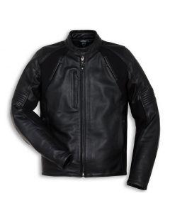 Giacca pelle Ducati Black Rider tg 54