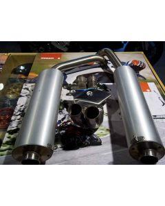 Silenziatori originali Termignoni + centrale e paracalore per Ducati 748 996 916 - usato