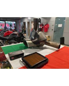 Kit scarico Termignoni racing con up map per Ducati XDiavel fino al 2020 - usato