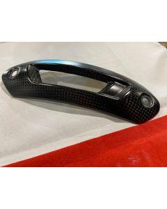 Protezione calore collettore in carbonio per Ducati Hypermotard 950 821 939 - usato
