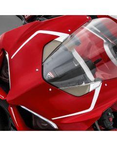 Adesivi originali V4R per cupolino e codone Ducati V4 base/s