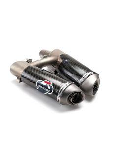 Silenziatore carbonio omologato per Ducati Hypermotard 1100 796 - SPECIAL PRICE - da ordinare